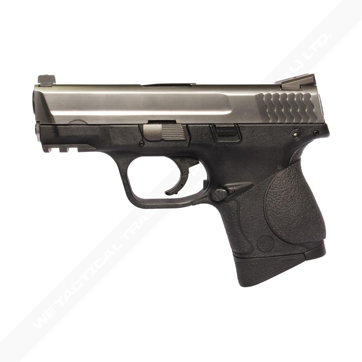 WE M&P9C / Little Bird Gas Blowback Pistol - Silver Slide