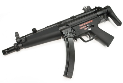 WE Mp5 A3 APACHE Steel Receiver GBB SMG