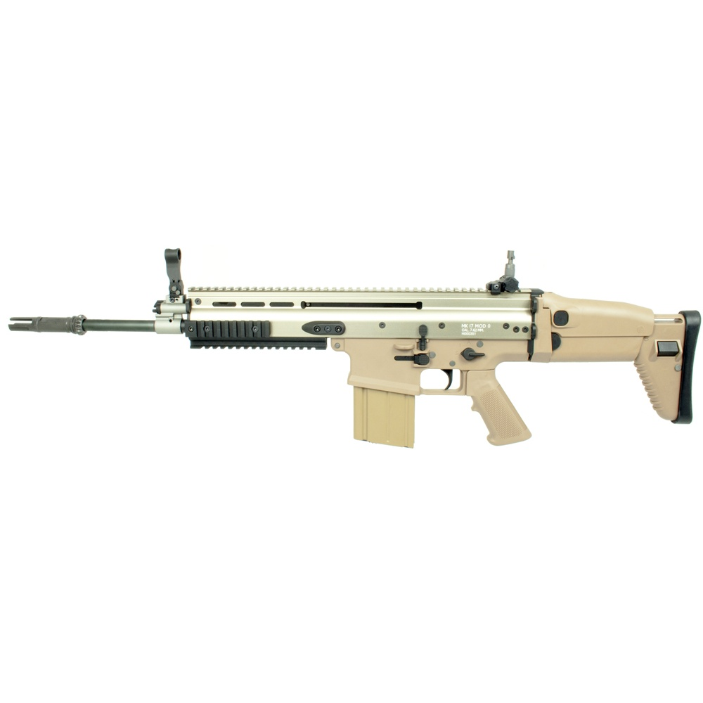 WE SCAR H / MK17 Full Metal AEG Rifle - Tan