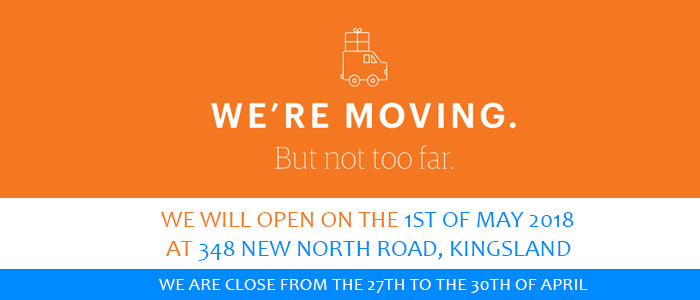We are moving to 348 New North Road