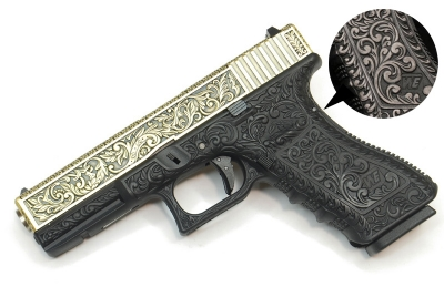 WE G17 Gas Blowback Pistol Classic Pattern (IVORY) - Metal Slide