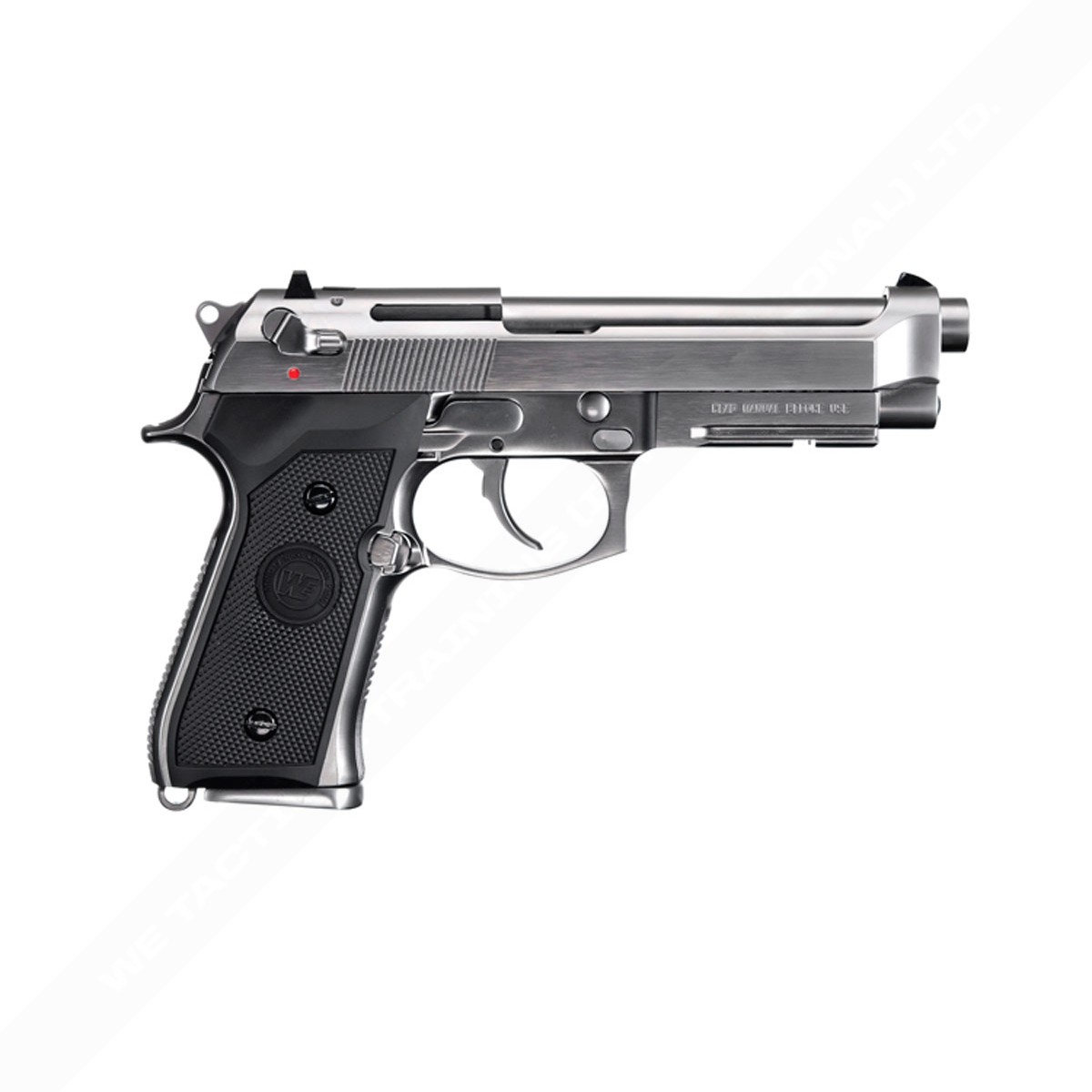 WE Beretta M9A1 (New Gen)Full Metal Gas Blowback Pistol - Silver